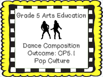 Grade 5 Dance Composition  Pop Culture Unit