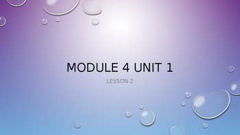 Grade 5 ELA Engage New York Module 4 Unit 2 Lessons 2-9