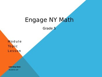 Grade 5 Engage New York Cover