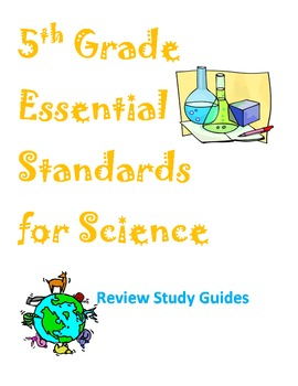 Grade 5 Essential Standards Study Guides and Review Quizze