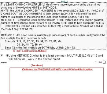 Grade 5 FRACTIONS UNIT 1: [Add w/different denoms]-4 works