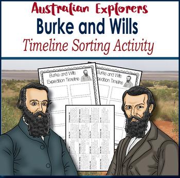 Grade 5 HASS – Australian Explorer– Burke and Wills – Time