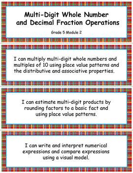 Grade 5 MODULE 2: Multi-digit Whole Number & Decimal Fract
