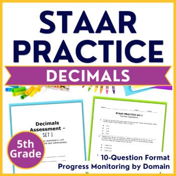 Grade 5 STAAR Practice {Decimal Operations Computations &