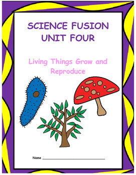 Grade 5 Science Fusion Unit Four Interactive Notebook/Note