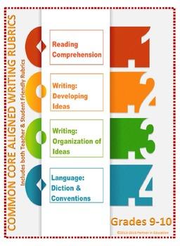 Grade 9-10: Teacher/Student Friendly Common Core/PARCC Ali