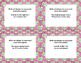 Grade 6-7 Writing Integers  40 Math Task Cards CCSS-Earth