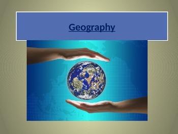 Grade 6-8 Geography