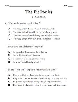 Grade 6 ELA 2014 NYS Released Questions Student Question a
