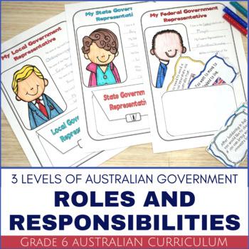 Grade 6 HASS Civics and Citizenship - Australia's Three Le