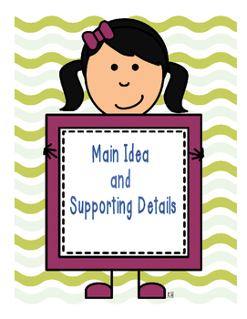 Grade 6: Language - Main Idea and Supporting Details