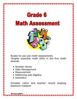 Grade 6 Math Assessment