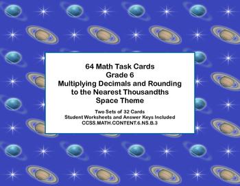 Grade 6 Math-Multiplying Decimals -CCSS.Math.Content.6.NS.