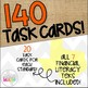 Grade 6 Math STAAR Test-Prep Task Cards- ALL FINANCIAL LIT