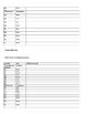 Grade 6 NC EOG Released Test Student Worksheet
