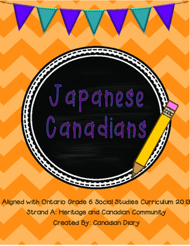 Strand A: Canadian Communities: Japanese Canadians