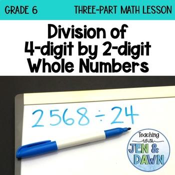 Grade 6 Ontario Math Three Part Lesson Division