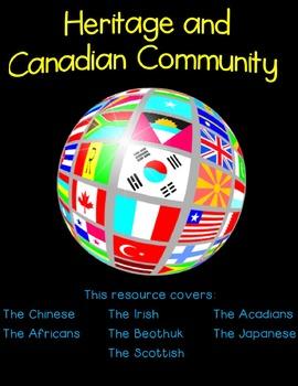 Gr. 6 Ontario Social Studies - Heritage and Canadian Commu