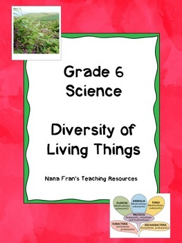 Grade 6 Science - Diversity of Living Things