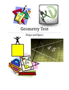 Grade 6 Shape and Space Test