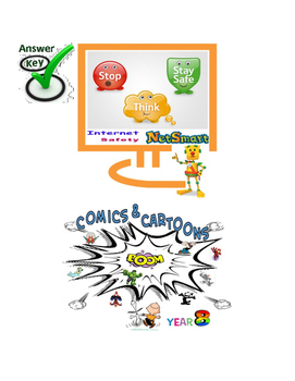 Grade 7,8,9 Year 7,8,9 E-safety Cyber Bullying  Comics Car