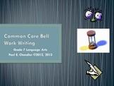 Grade 7 Language Arts Common Core Bell Work