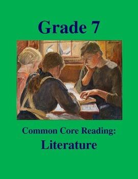 Grade 7 Common Core Reading: Literature -- The Day of Inte