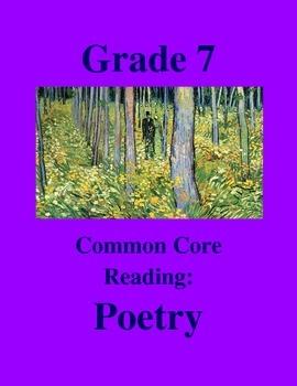 "Grade 7 Common Core Reading: Poetry - ""Arachne and Athena"""
