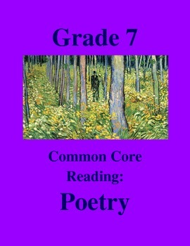 """Grade 7 Common Core Reading: Poetry - """"First Kid"""" by Marie Devers"""