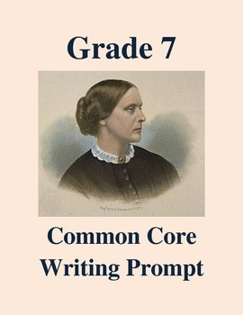 Grade 7 Common Core Writing Prompt -- Response to Susan B.