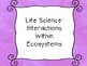 Grade 7 Science I Can Statement Posters - Saskatchewan