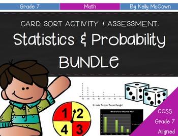 Grade 7 Statistics & Probability BUNDLE