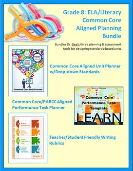 Grade 8: Common Core Curriculum Planning Bundle