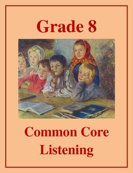 Grade 8 Common Core Listening Practice - Shakespeare: Man
