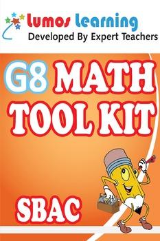 Grade 8 Math Tool Kit for Educators, SBAC Edition