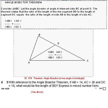 Grade 8 and up: Theorems, formulas and problems for the GI