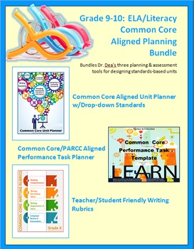 Grade 9-10: Common Core Curriculum Planning Bundle
