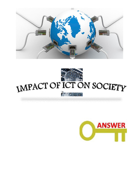 Grade 8, 9 Year 8, 9 ICT, Impact of ICT on Society Tests A