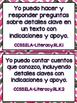 Grade K Language Arts Common Core Standards in Spanish