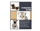 Grade One LA Health Lesson Plan on Responsible Pet Ownersh