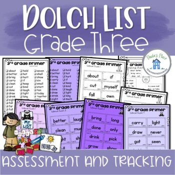 Grade Three Sight Word - Assessment and Tracking