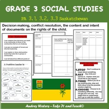 Grade Three Social Studies Unit 3
