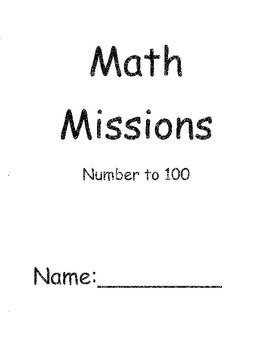 Grade Two Math Problem Solving Missions for Numbers to 100