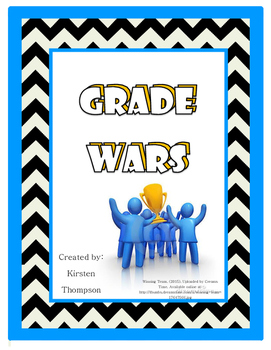 Grade Wars - School Spirit Activity