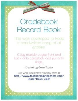 Grade-book Page