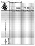 Gradebook Sheets **Editable**