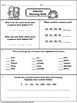 January Morning Work No Prep Printables - Grades 2-3