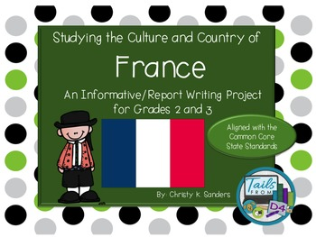 Grades 2-3:Informational Report with Foldable - Country St