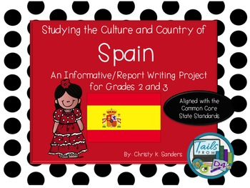 Grades 2-3:Informational Report with Foldable- Country Stu