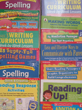 Grades 2-4 Writing/Spelling/Reading Response/Graphic Organ